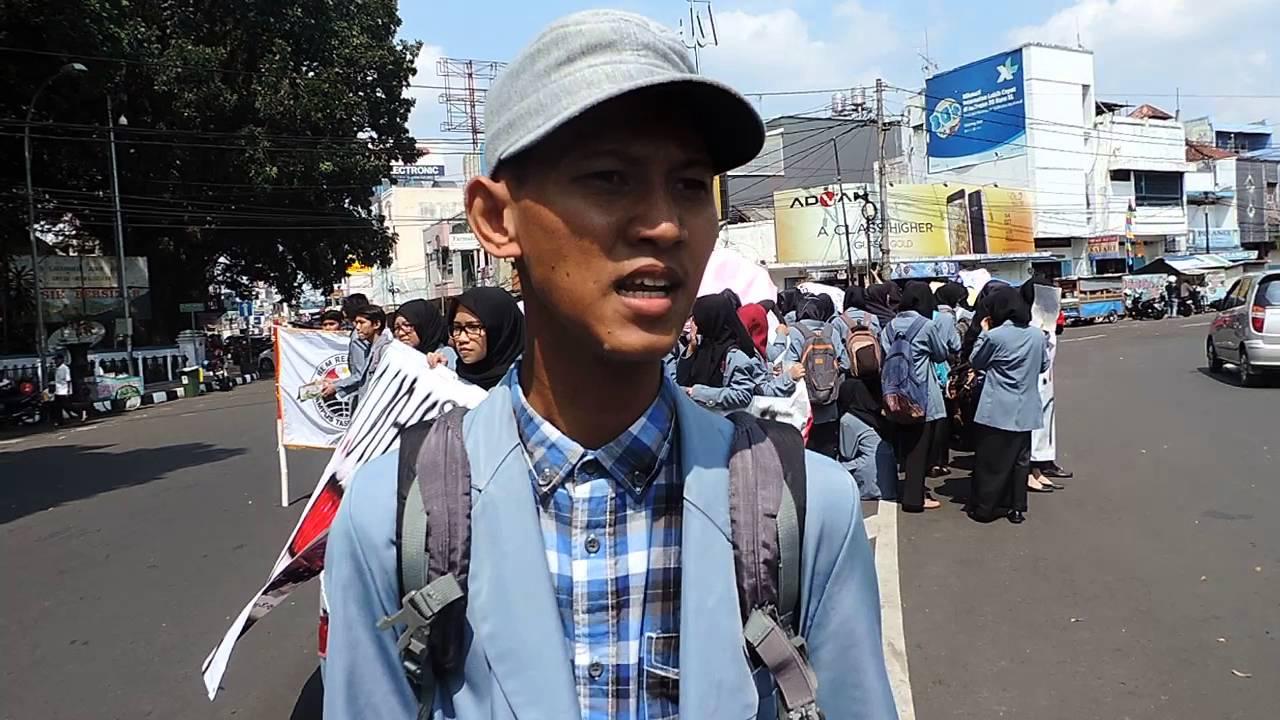 Demo Mahasiswa UPI Tasikmalaya