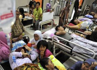 Santap Hidangan Hajat, 75 Warga di Lembang Keracunan