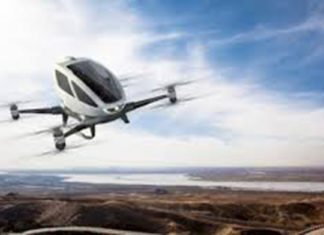 Drone Ehang 184 Buatan Tiongkok Jadi Alat Transportasi Udara Dubai