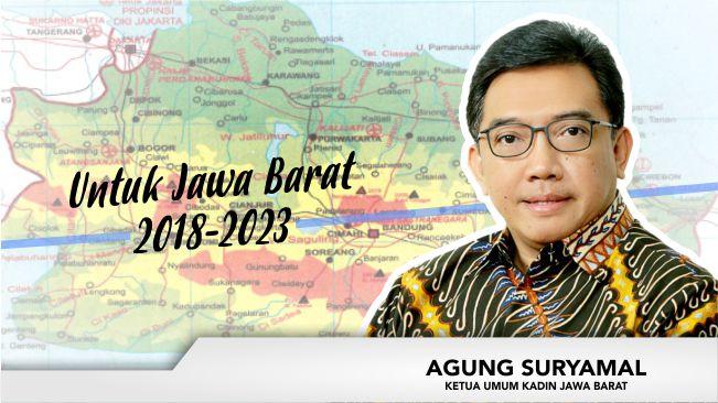 Sosok Agung Suryamal, Pengusaha yang Siap Maju di Pilgub Jabar