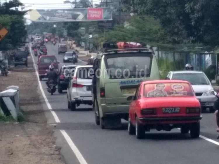 H-1 Lebaran Arus Lalin di Jalur Ciamis Terpantau Ramai ...