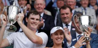 Berpasangan dengan Hingis, Murray Raih Gelar Campuran Wimbledon