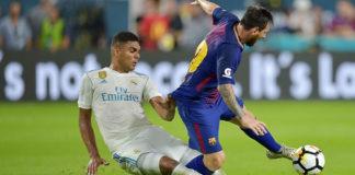 Real Madrid Kalah Tipis dari Barcelona di Amerika Serikat