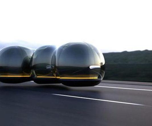 Di Masa Depan, Mobil Akan Berbentuk Seperti Gelembung