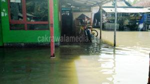 Jadi Langganan Banjir, Warga Minta Pemkab Pangandaran Lakukan Normalilasi Sungai Cikidang