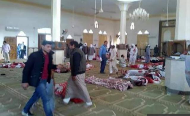 Ratusan Umat Islam Syahid di Masjid Kota Mesir Saat Jumatan, Dunia Bungkam Media Mainstream pun Malas Beritakan