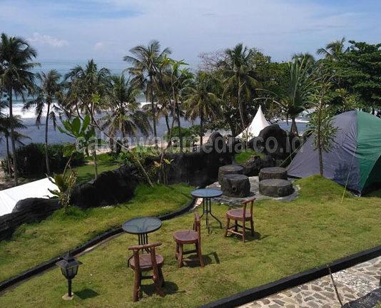 Karapyak Glamping Beach Side Exclusive Camping Ground Resto & Cafe Wisata Baru di Pangandaran