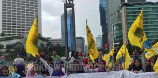 Kasus Kekerasan Seksual Terus Tinggi, KOPRI PB PMII Gelar Aksi Dukung Pengesahan RUU Tersebut