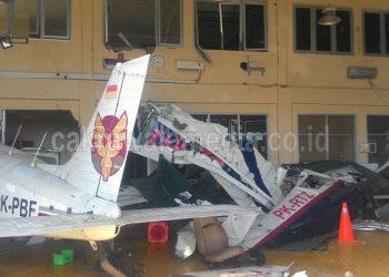 Pesawat Latih PK – RTZ Hilang Kendali, Satu Orang Meninggal Dunia