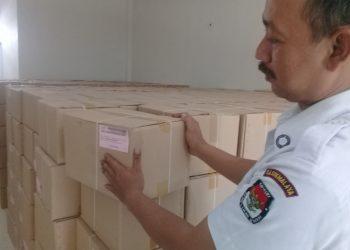 672 Dus Surat Suara Pilgub Jabar Diterima KPU Kab Tasikmalaya