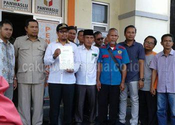 Datangi Mapolres Kota Banjar, Tim Paslon Walikota Banjar Laporkan Selebaran Ujaran Kebencian