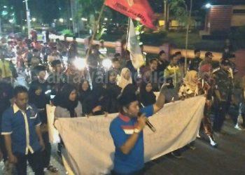 Warga Pangandaran Gelar Aksi Damai Tolak Radikalisme