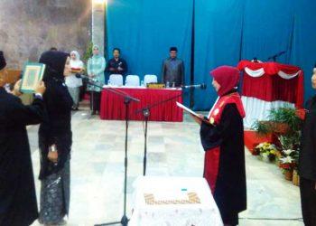 Ida Widaningsih Resmi Jabat Ketua DPRD KBB