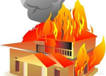 Lupa Matikan Tungku Bekas Bakar Ikan, Rumah Omit Ludes Terbakar