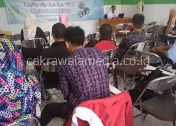 Pelatihan Pertama WUB Disporabudpar Kota Tasikmalaya