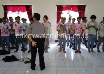 Corat-coret, Puluhan Pelajar Diciduk Polres Banjar