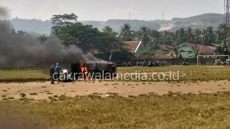 Tak Terima Temannya Ditangkap, Warga Bayah Rusak Kantor Polsek Bayah Banten