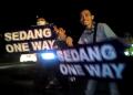 Lelah Meliput, Inilah Aksi Jurnalis Di Jalur Mudik/Balik Via Tasikmalaya