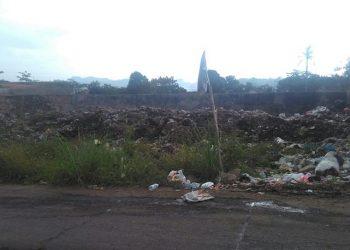 Bau Menyengat Di Gedong Lima Ganggu Masyarakat dan Pengendara yang Lewat