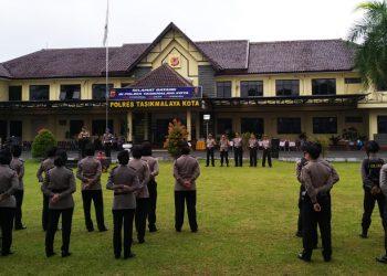 Kapolresta Minta 27 Anggota Polisi yang Naik Pangkat Bekerja Lebih Giat