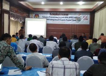 Sosialisasi Silon, KPU Banjar Harap Parpol Paham Regulasi