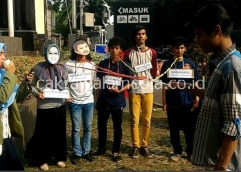 Mahasiswa Unida Tuntut KPK Penjarakan Pejabat Pemkab Bogor yang Terlibat Korupsi