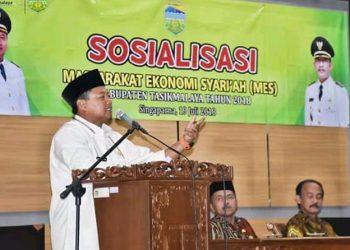 Bupati Tasik : Ekonomi Syariah Sangat Cocok Diterapkan di Kabupaten Tasikmalaya