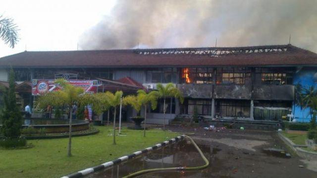 Kebakaran Lapas Banceuy