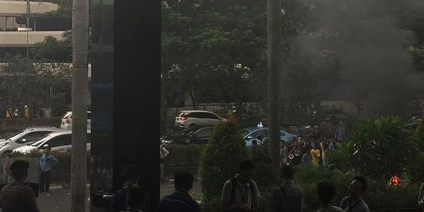 Aksi Unjuk Rasa HMI, Berujung Anarki