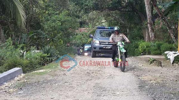 Brimob Polda Jabar di Libatkan Dalam Pengamanan Pilkades Serentak Di Pangandaran