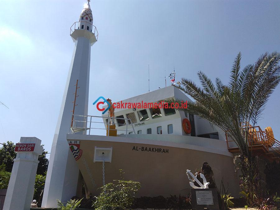 Masjid Serupai Kapal, Ikon Baru Cimahi