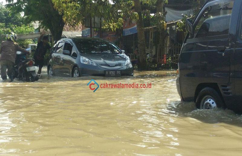 Banjir di Kalipucang Pangandaran Tak Kunjung Surut, Warga Pertanyakan Sikap Pemerintah