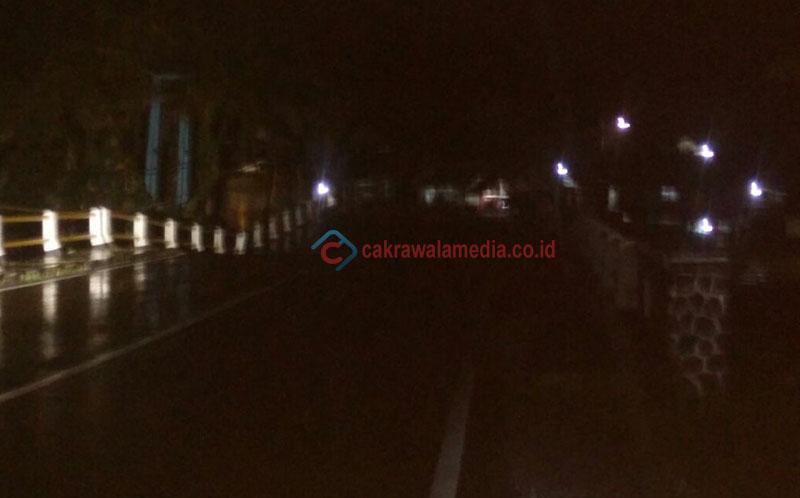 Warga Tuding Penyebab Amblasnya Jembatan Akibat Pipa PDAM