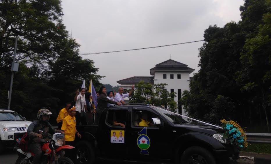 Konvoi Kendaraan Tandai Dimulainya Deklarasi Kampanye ...