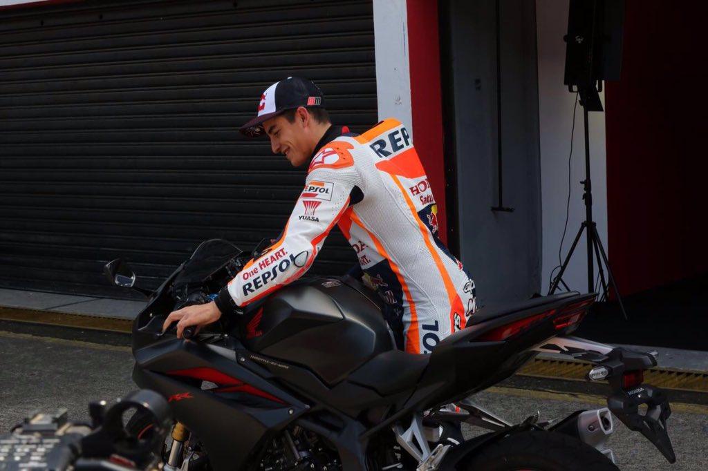 Marc Marquez Test Road All New CBR250RR di Sentul