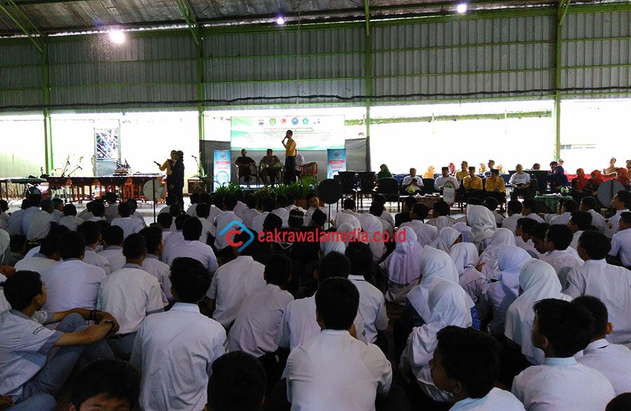 Ribuan Siswa Kota Cimahi Gelar Deklarasi Anti Kriminalitas