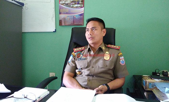 Satpol PP Pasti Tertibkan Bangli di Cimahi Tapi Tak Tahu Kapan