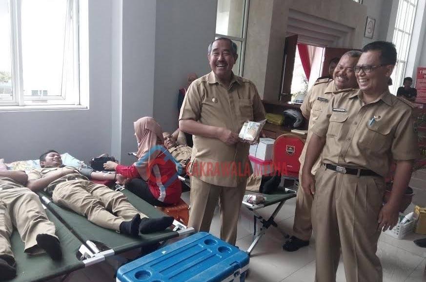 Abubakar Ajak PNS Bandung Barat Jadi Pendonor Darah