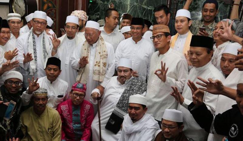 Anies-Sandi: Terima Kasih Doa Para Ulama, Habaib, Guru dan Warga Jakarta