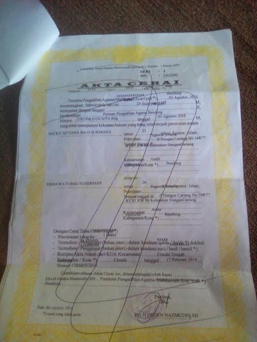 Maraknya Akta Cerai Palsu Di Bandung Barat Cakrawalamedia
