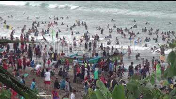 Ketua Balawista Dodo Taryana : Anak Tersesat di Pantai Pangandaran Terus Bertambah