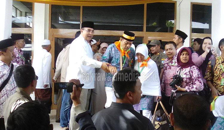 Wali Kota Tasik Melepas 404 Calon Jemaah Haji, Empat Orang Gagal Berangkat