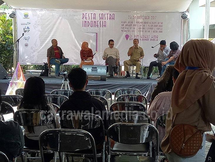 Gebyar Sastra Menggugah Kesusastraan Bandung