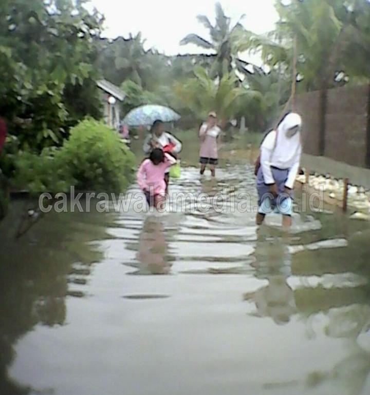 Inilah Data Korban Banjir Desa Babakan