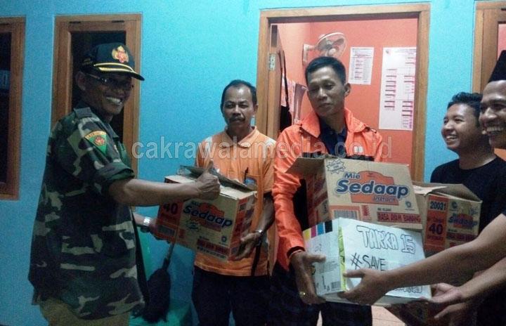 PPDI Berikan Bantuan Sembako Untuk Korban Banjir Babakan