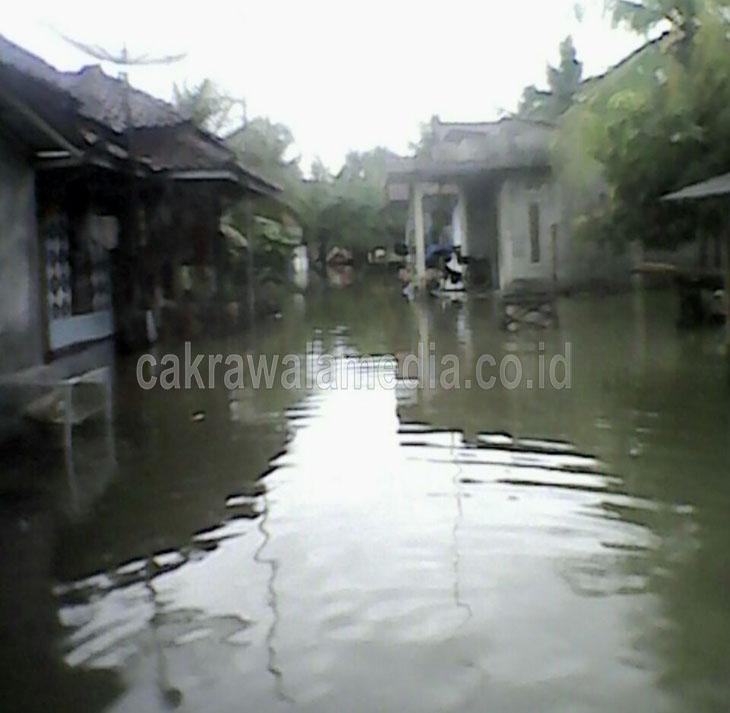 Ratusan Rumah Warga Desa Babakan Pangandaran Kembali Diterjang Banjir