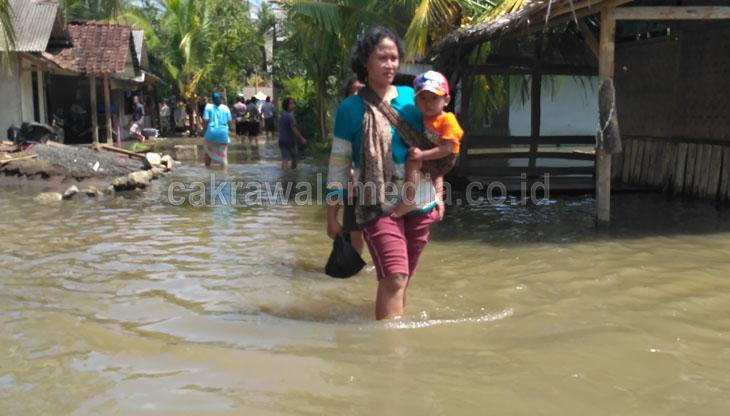 Ratusan Rumah Warga di Dua Desa Masih Terendam Banjir
