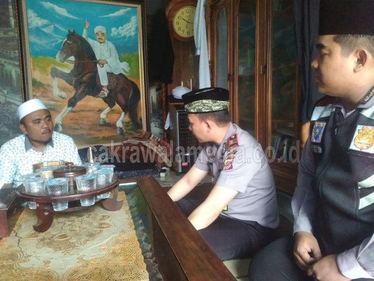Tingkatkan Keamanan dan Tali Silahturahmi, Kapolsek Carigin Menggandeng Puluhan Tokoh Ulama