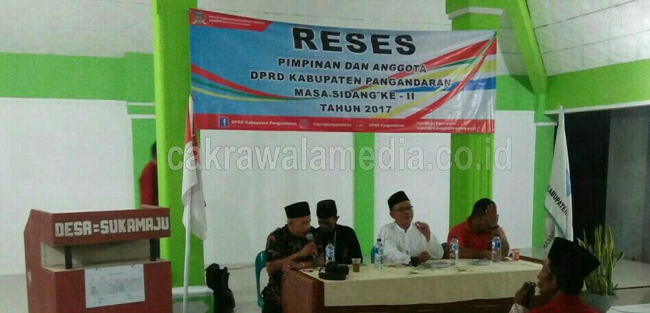Tampung Aspirasi Masyarakat, Ketua DPRD Pangandaran Gelar Reses