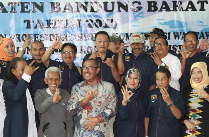 PWI Bandung Barat Kawal Pesta Demokrasi Agar Berkualitas
